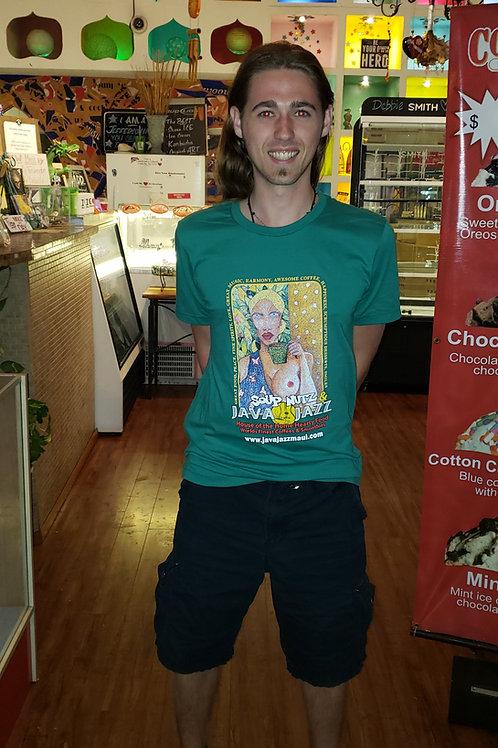 Green Java Jazz T-Shirt
