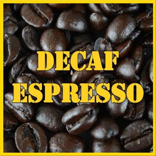 Half Pound Decaf Espresso