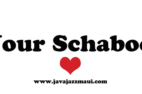 Save Your Schaboomski! Bumper Sticker