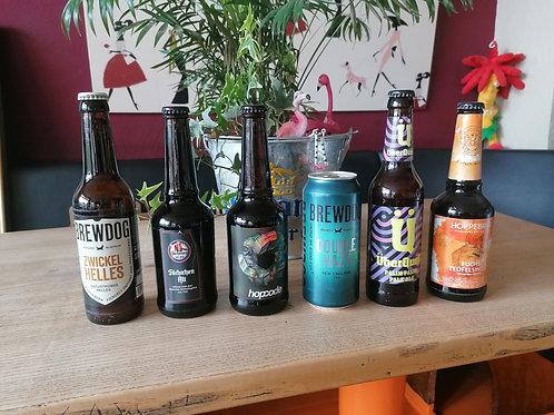 the sunny side of vohwinkel, wg. verfügbarkeit z.T. andere biere als im video