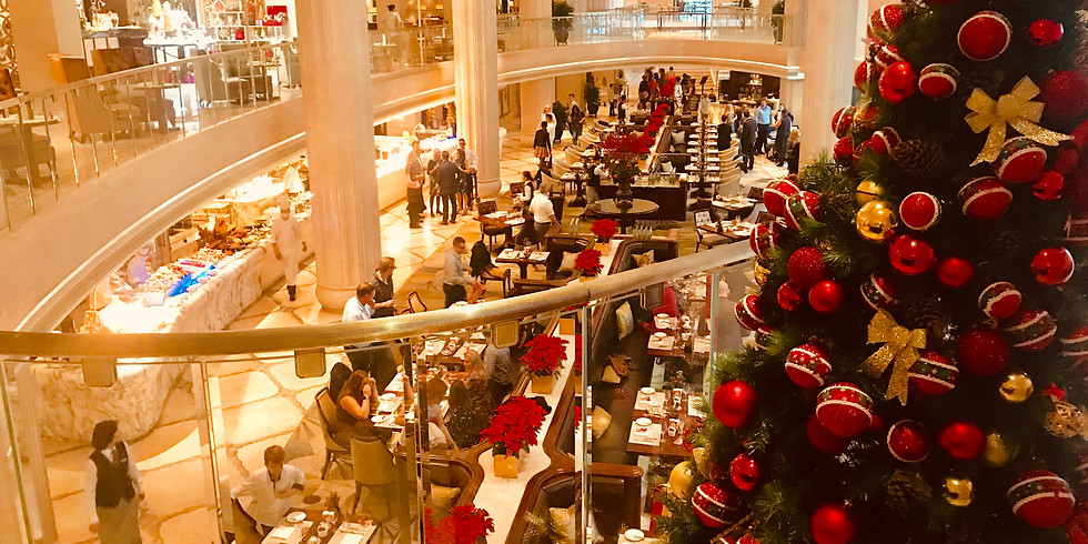 Holiday Brunch at the Waldorf Astoria