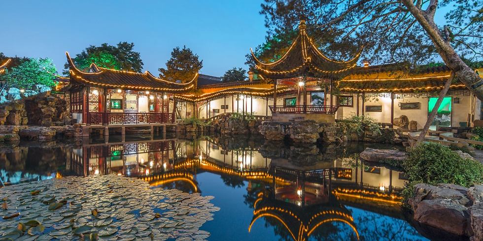 DAY TRIP: Summer Evening Tour of Suzhou Garden