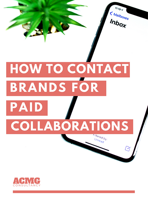 How To Contact Brands For Paid Collaborations