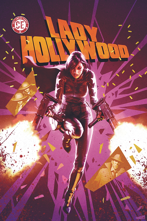 Lady Hollywood #2 Variant Cover