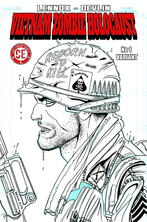 Vietnam Zombie Holocaust #1 Variant Cover