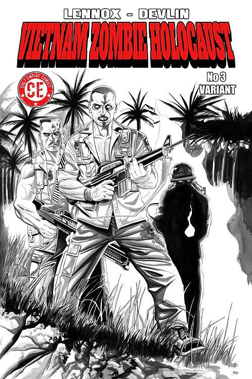 Vietnam Zombie Holocaust #3 Variant Cover