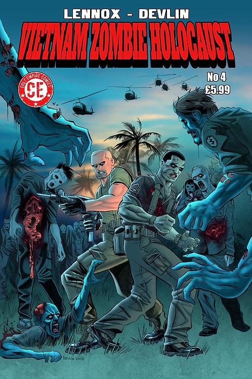 Vietnam Zombie Holocaust #4 Regular Cover