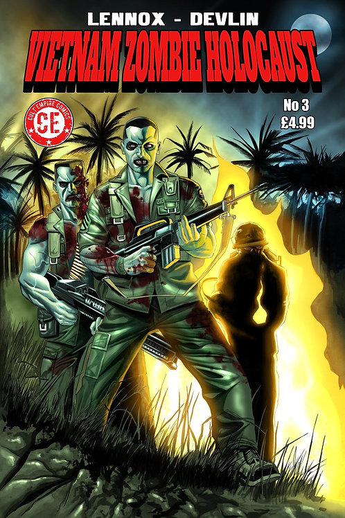 Vietnam Zombie Holocaust #3 Regular Cover