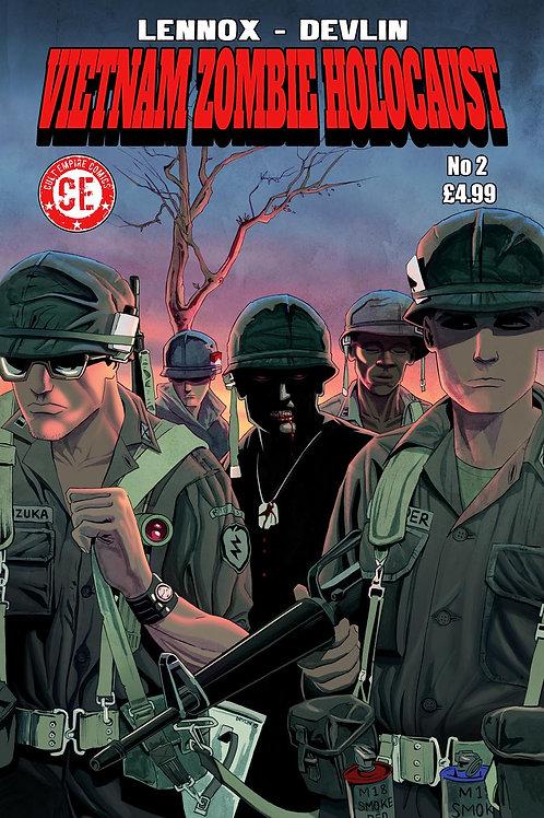 Vietnam Zombie Holocaust #2 Regular Cover