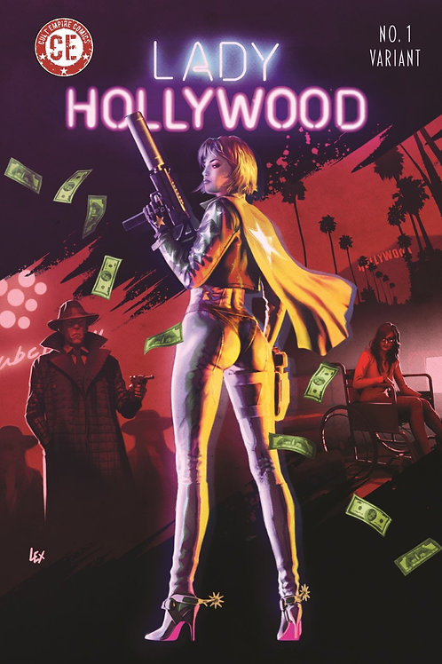 Lady Hollywood #1 Variant Cover