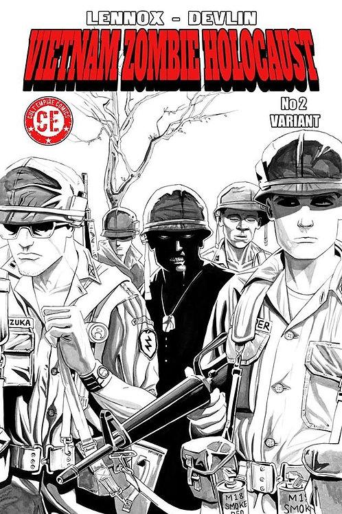Vietnam Zombie Holocaust #2 Variant Cover
