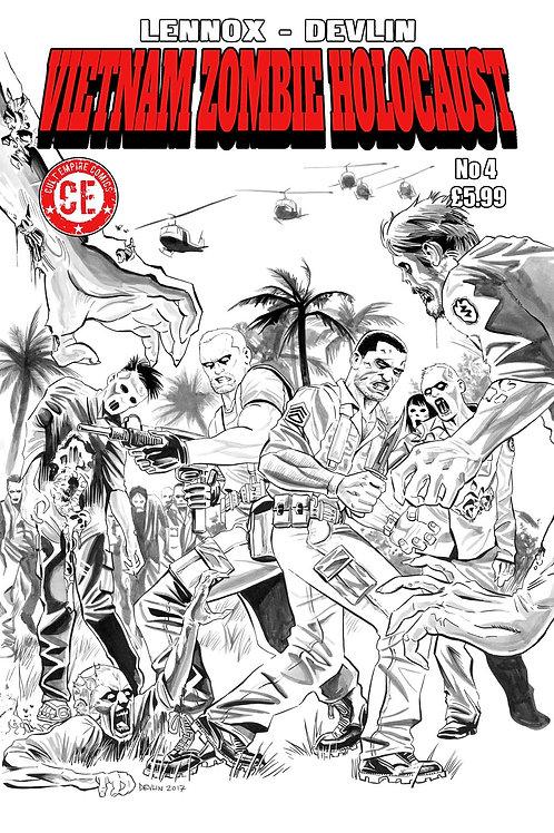 Vietnam Zombie Holocaust #4 Variant Cover