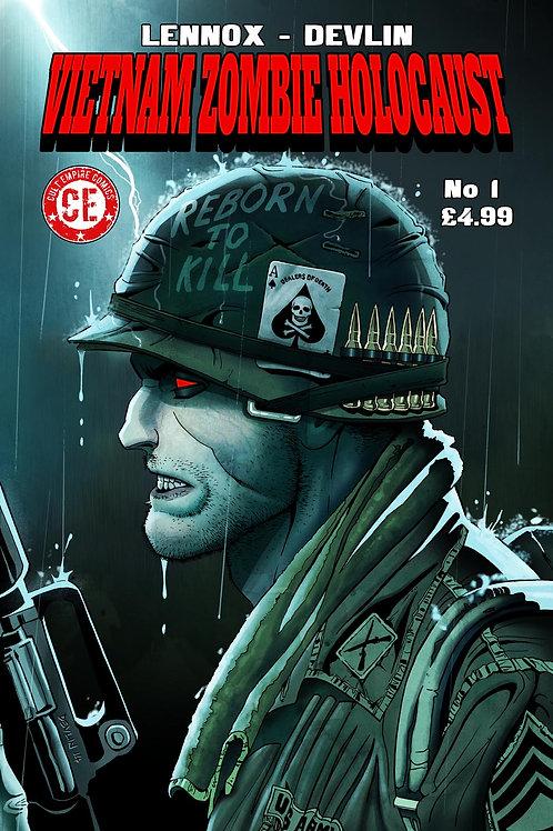 Vietnam Zombie Holocaust #1 Regular Cover