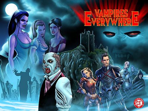 Vampires Everywhere Graphic Novel Wrap Cover