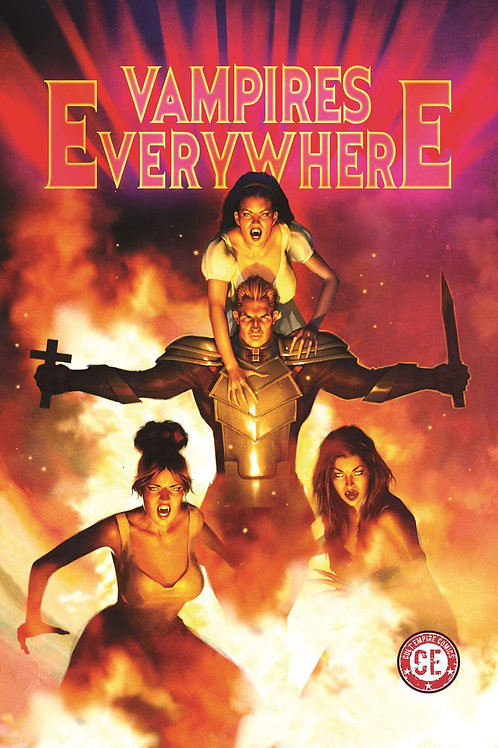 Vampires Everywhere Graphic Novel Variant Cover