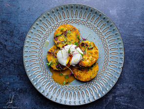 Sweet Potato Coconut Farls