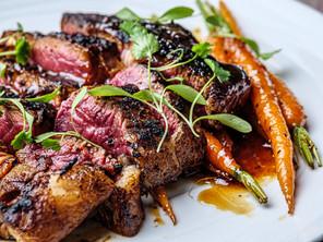 Texas Roadhouse Steak with Bourbon Carrots
