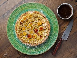 Banana Cheesecake Tart