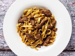 Silk Road Style Lamb and Cumin Pasta