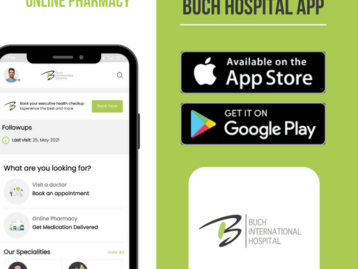 Download Updated Buch Hospital App