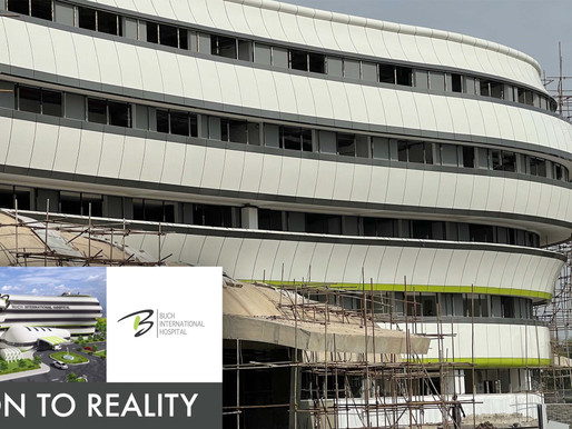 Shaping up! V2R - Vision to Reality - Buch International Hospital