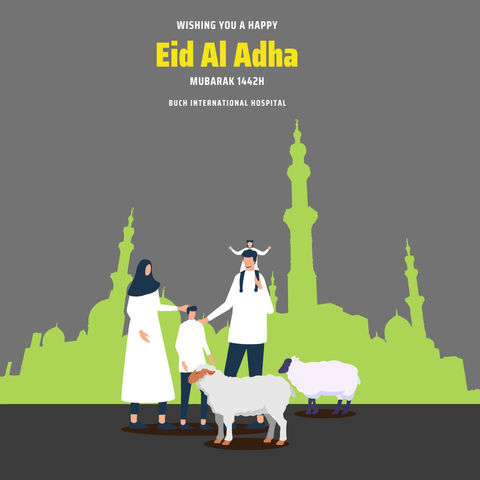 Happy Eid-al-Adha Mubarak