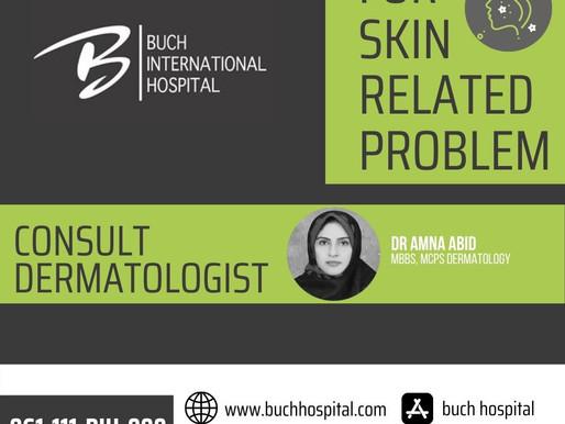 Consult Dermatologist!