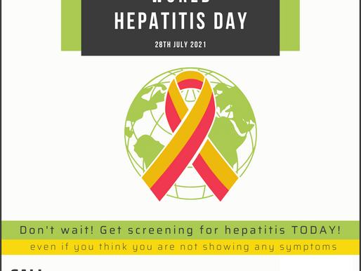World Hepatitis Day | 28th July 2021