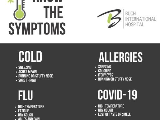 Know the Symptoms