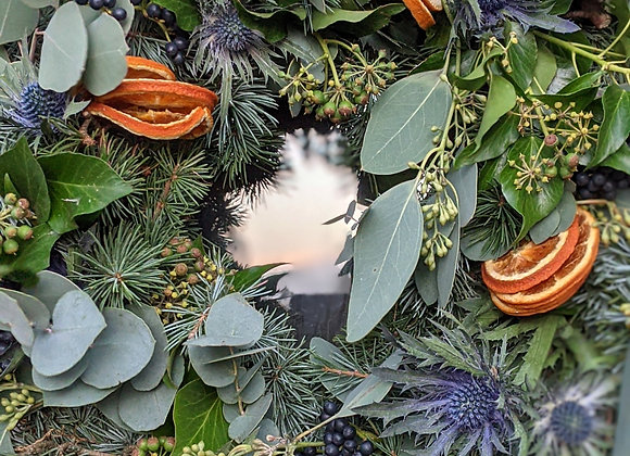 The 'Deck the Halls' Wreath - Large