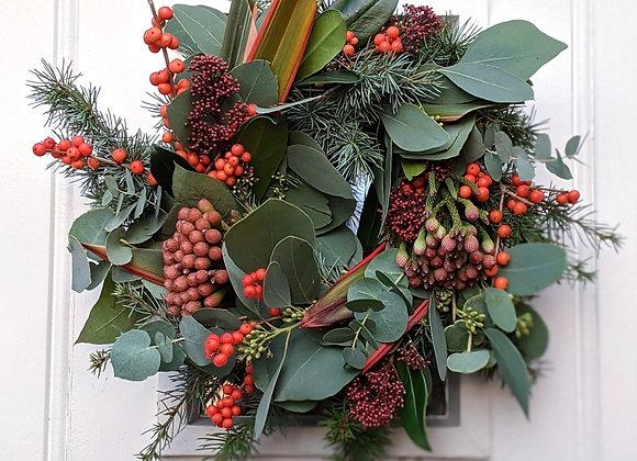 The 'Santa Baby' Wreath Kit - Small