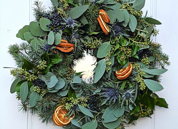The 'Deck the Halls' Wreath Kit - Medium