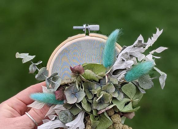 Dried Flower Hoop - Small