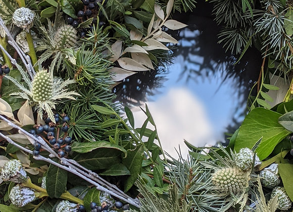 The 'Winter Wonderland' wreath -Medium