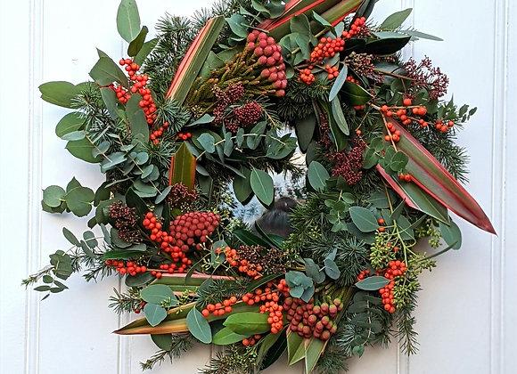 The 'Santa Baby' Wreath Kit - Large