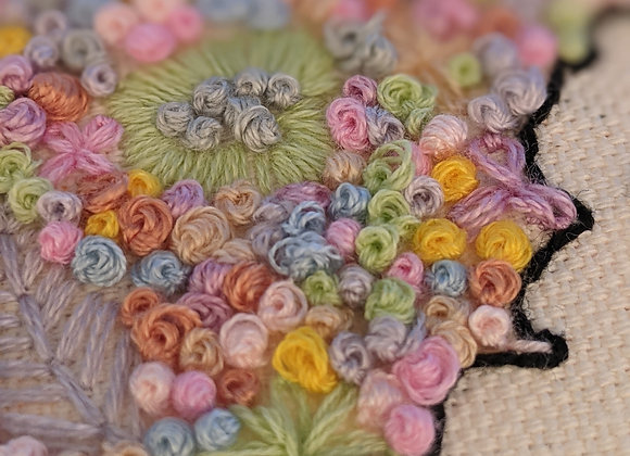 Embroidered Country Hoop