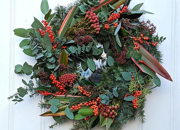 The 'Santa Baby' Wreath - Large