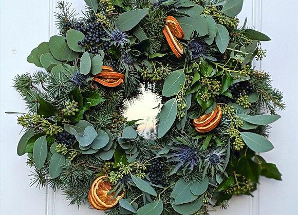 The 'Deck the Halls' Wreath - Medium
