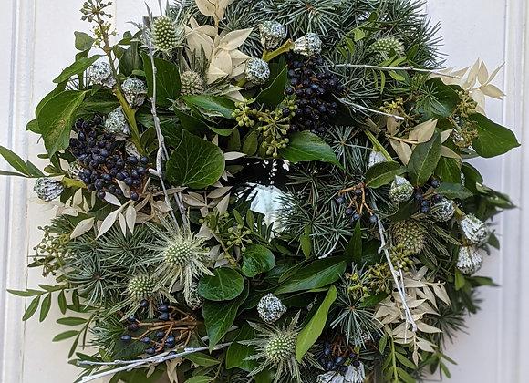 The 'Winter Wonderland' wreath -Small