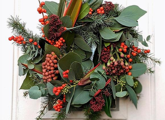The 'Santa Baby' Wreath - Small