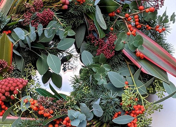 The 'Santa Baby' Wreath - Medium