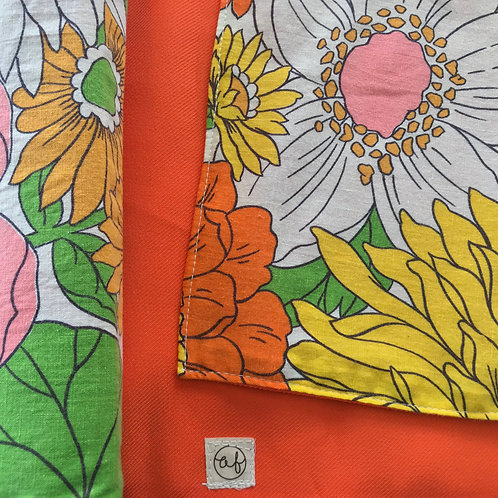 Retro Flower Orange