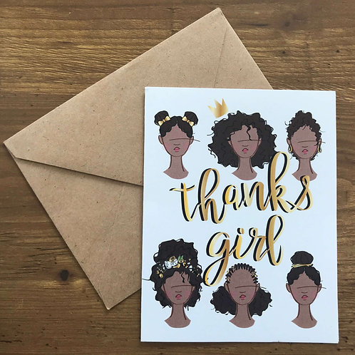 THX Girl Card