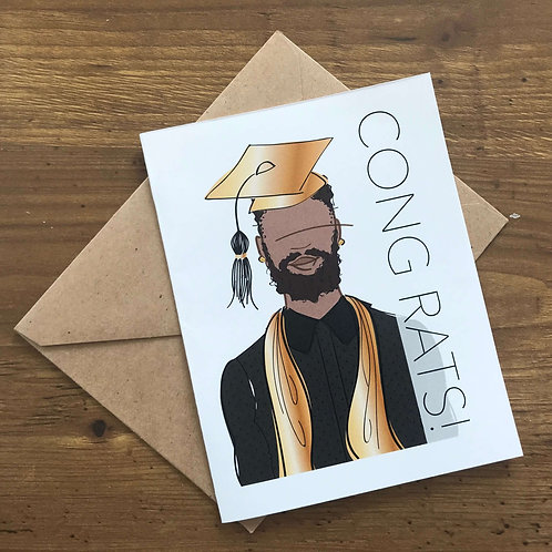 Congrats Mr. Grad Card