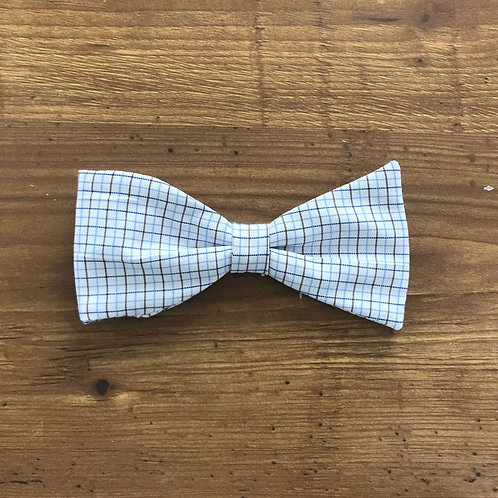 Plaid Shirting Bow