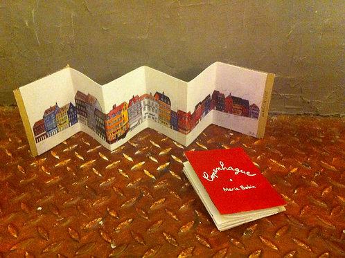 livre-accordéon Copenhague : le quai de Nihavn