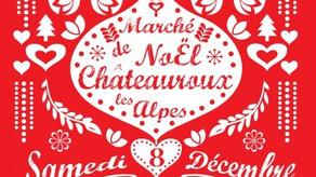 Marché de Noël, Feu d'artifice et Concert Dessiné