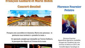 27/01/2018 : Concert dessiné dans l'Ain
