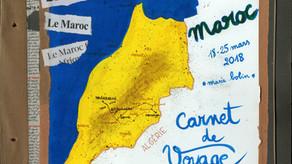 """Mon carnet du Stage 2018 """"Carnet de Voyage au Maroc"""" est en ligne!"""