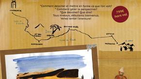 """Stage """"Carnet de Voyage"""" au Maroc"""